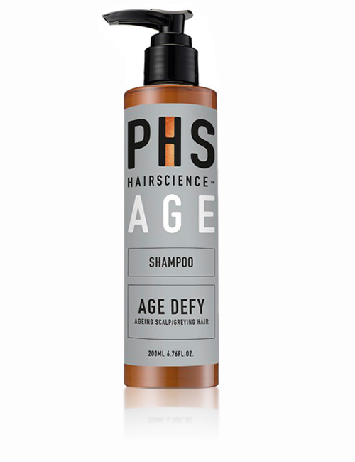 Антивозрастной шампунь против седины PHS AGE Defy Shampoo