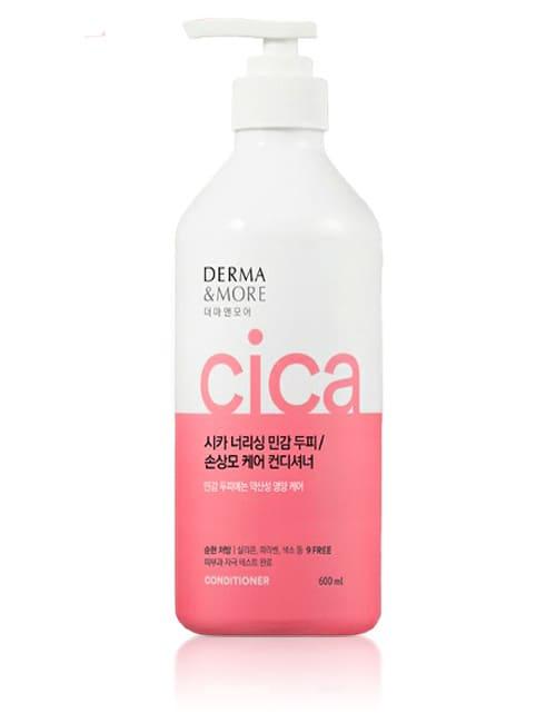 Кондиционер для кожи головы и волос Derma & More Cica Nourishing Sensitive Scalp Conditioner 600мл