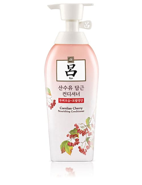 Кондиционер для ухода за кожей головы и волосами Ryo Seaweed Cornlian Cherry Nourishing Conditioner 500мл