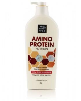 Шампунь для волос Mise-en-scène Amino Protein Nutrition Shampoo 1100мл