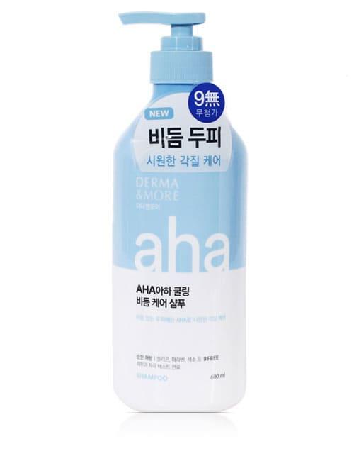 Шампунь для волос Derma & More Aha Cooling Dandruff Care Shampoo 600мл