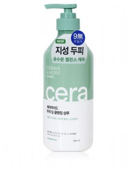 Шампунь для шкіри голови Derma & More Ceramide Scalp Deep Cleansing Shampoo 600мл
