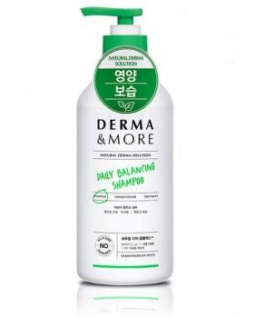 Шампунь для волос и кожи головы Derma & More Daily Balancing Shampoo 600мл.