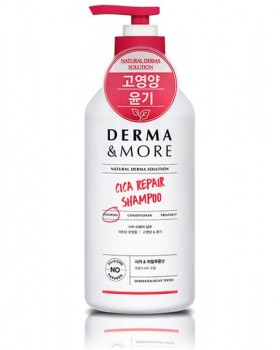 Шампунь для волосся  Derma & More Daily Cica Repair Shampoo 600мл.