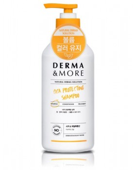 Шампунь для волос Derma & More Cica Protecting Shampoo 600мл.