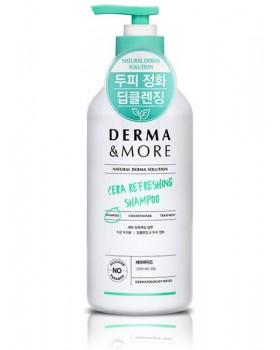 Шампунь для шкіри голови Derma & More Cera Refreshing Shampoo 600мл.