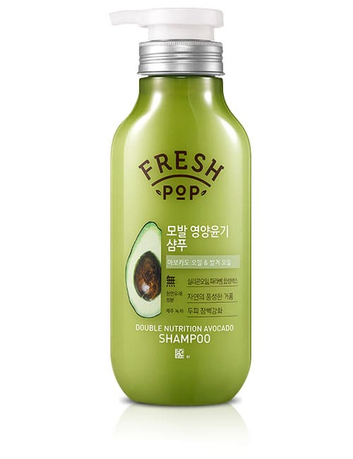 Шампунь для волос Fresh Pop Double Nutrition Avocado Shampoo 500мл