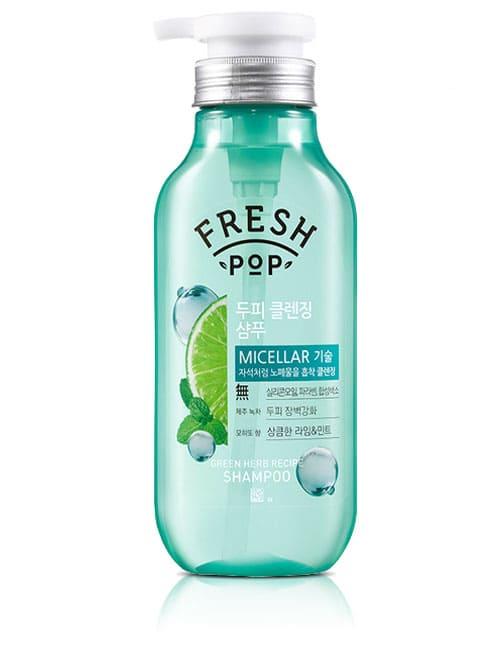 Шампунь для волос Fresh Pop Green Herb Recipe Shampoo 500мл