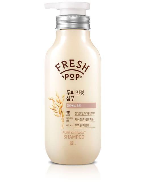 Шампунь для волос Fresh Pop Pure Aloe & Oat Shampoo 500мл