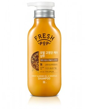 Шампунь для волосся Fresh Pop Sweet Almond Oil & Granola Shampoo 500мл