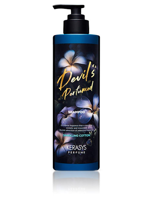 Шампунь для волосся Kerasys Devil's Perfumed Sparkling Cotton Shampoo