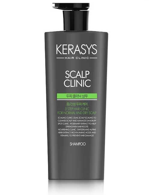 Шампунь для кожи головы Kerasys Scalp Clinic Plus Shampoo 750мл