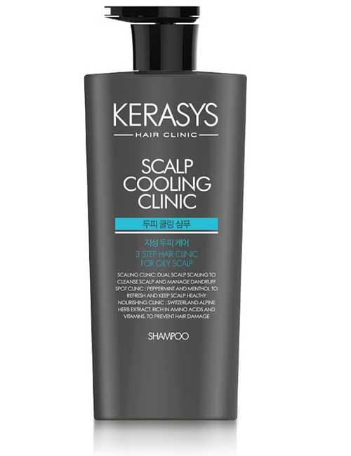 Шампунь для кожи головы Kerasys Scalp Fresh Cool Clinic Shampoo 750мл
