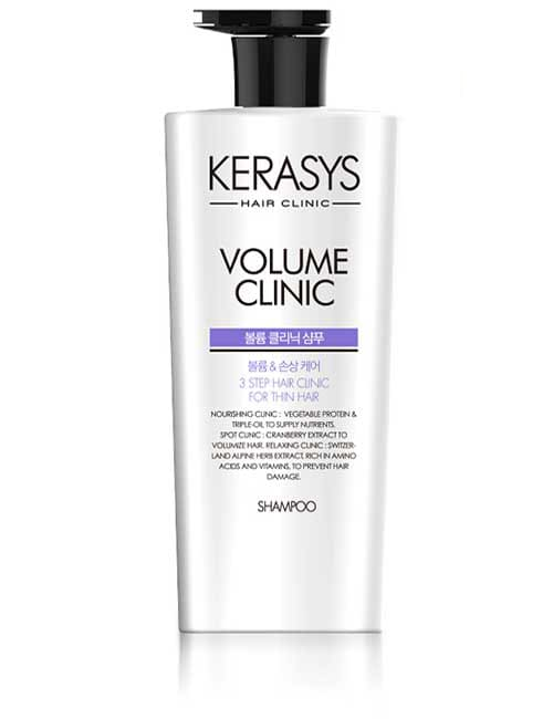 Шампунь для волос Kerasys Volume Clinic Plus Shampoo 750мл