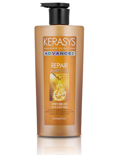 Шампунь для волос Kerasys Advanced Ampoule Repair Shampoo 600мл.