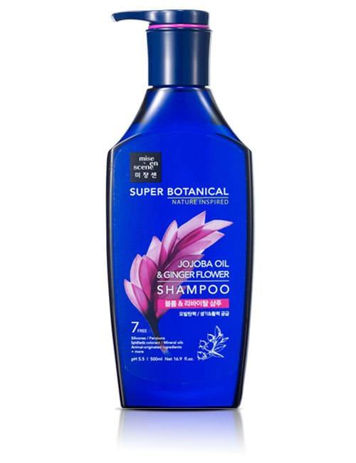 Шампунь для волос Mise-en-scène Super Botanical Volume & Revital Jojoba Oil Shampoo 500мл