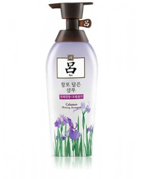 Шампунь для догляду за шкірою голови і волоссям Ryo Seaweed Calamus Shining Iris Shampoo 500мл