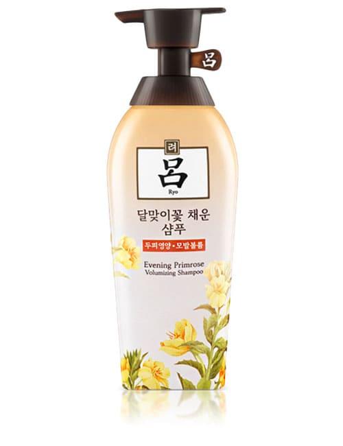 Шампунь для ухода за кожей головы и волосами Ryo Seaweed Evening Primrose Volumizing Shampoo 500мл